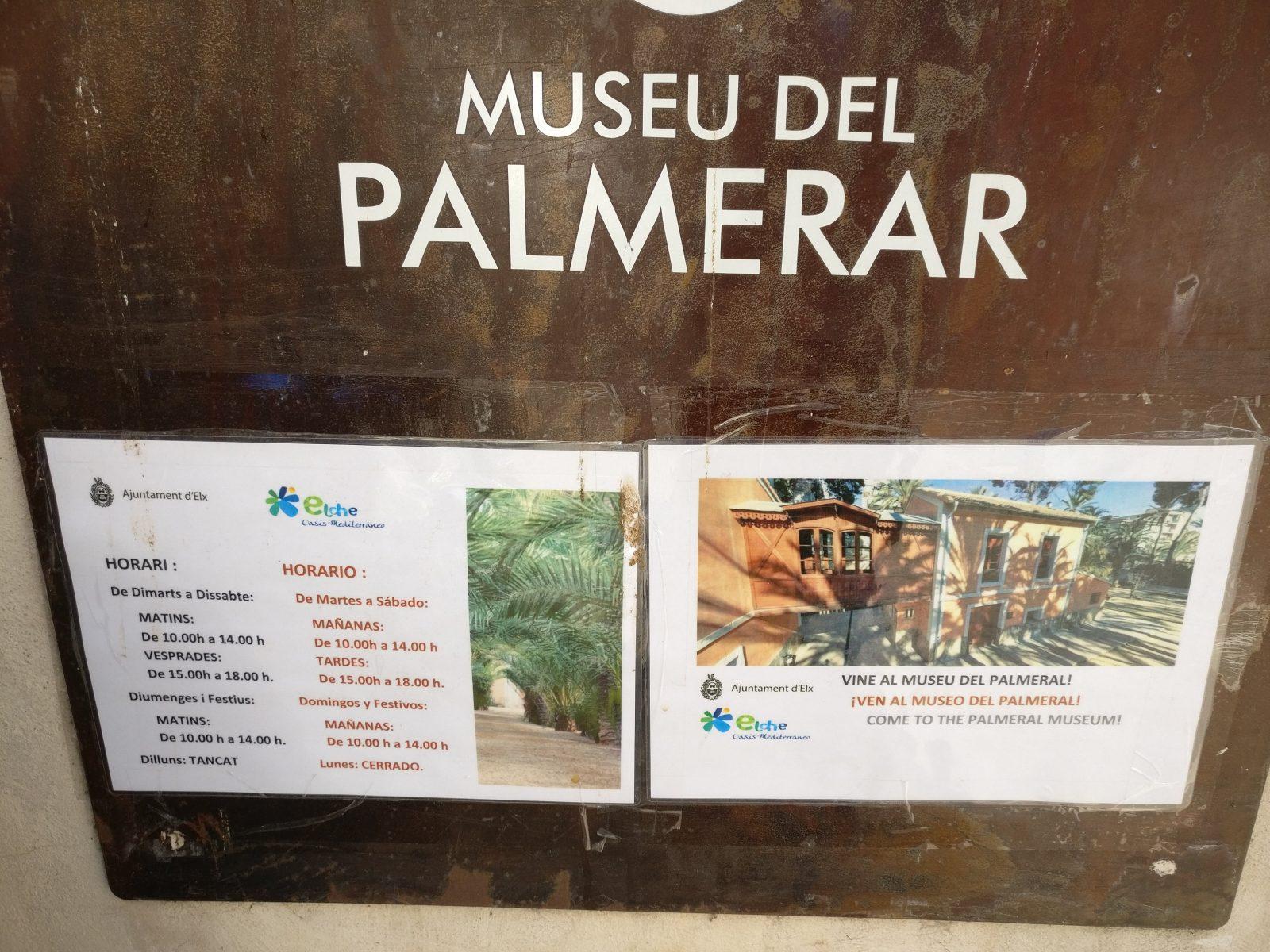 Museo del palmeral Elche