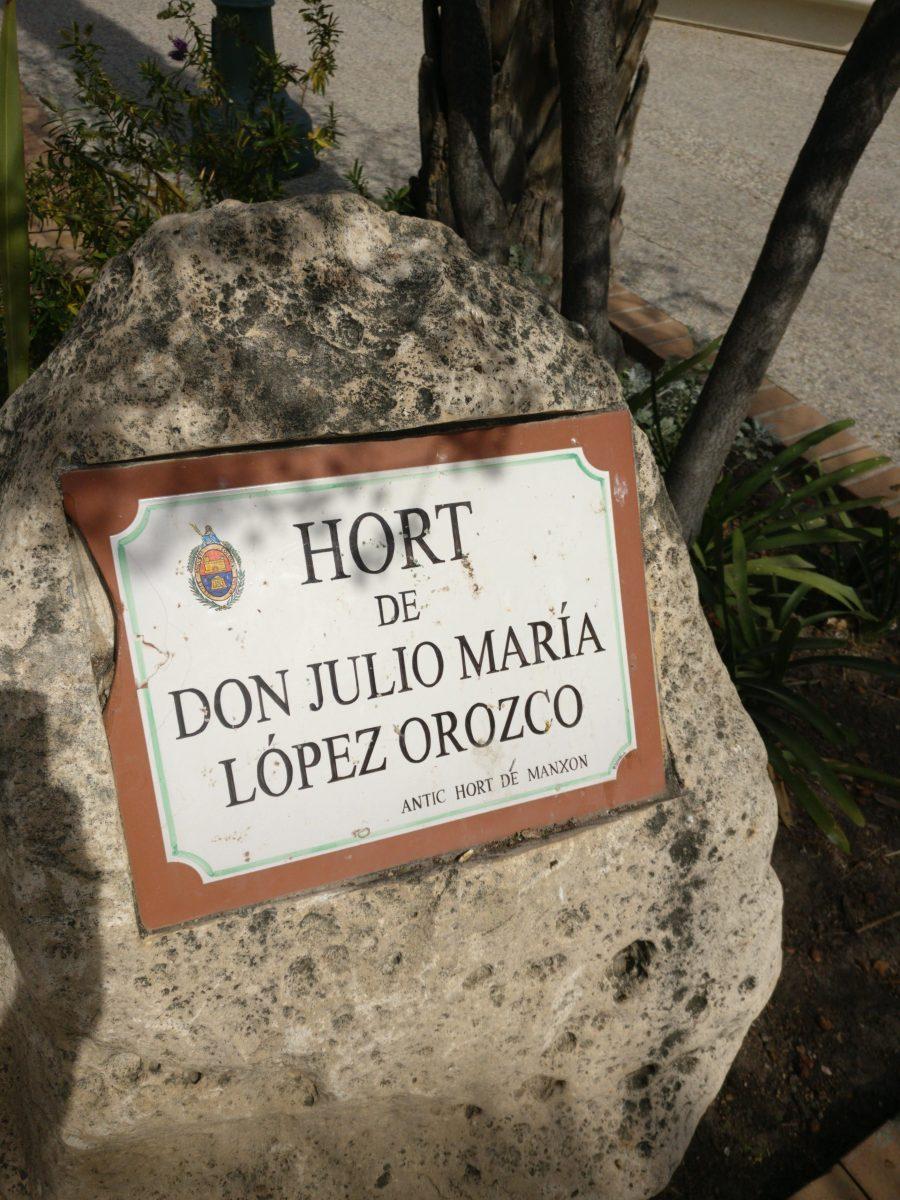 Huerto de Don Julio María López Orozco