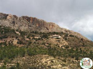 Vista exterior Cueva del Canelobre