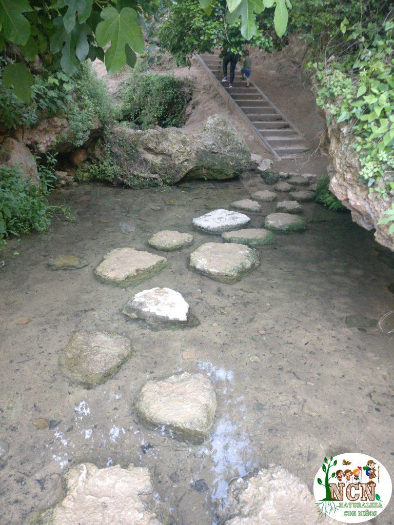 Original paso por encima del agua