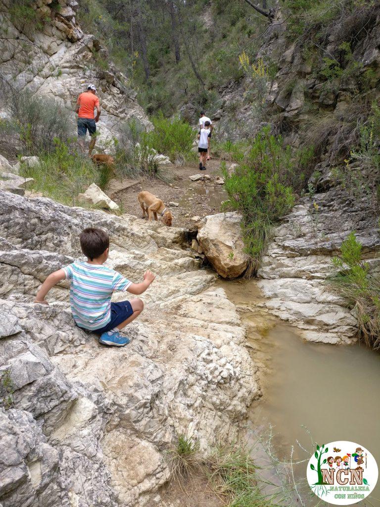 Barranco muy cerca del Parque de Montaña Daniel Esteve