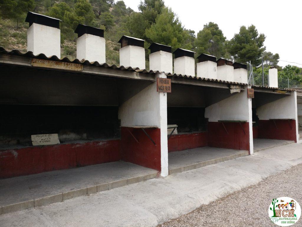 Barbacoas del Parque de Montaña Daniel Esteve