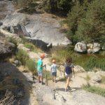 Paraje Las Chorreras, Hoyos del Espino
