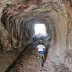 Túnel del aljezar de la cantera de la Yesería Román
