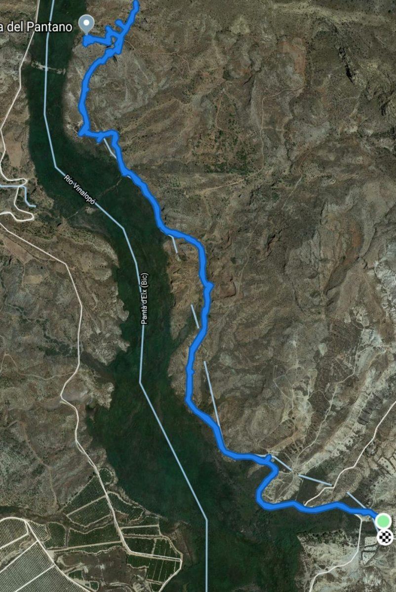 Ruta cola del pantano Elche
