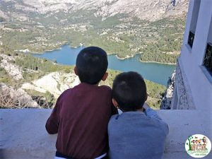 Vistas embalse Guadalest